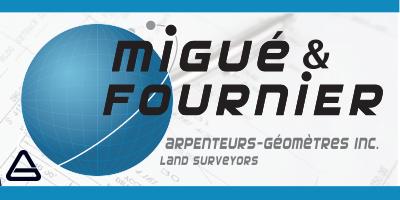 Migué & Fournier Arpenteurs-Géomètres Inc.